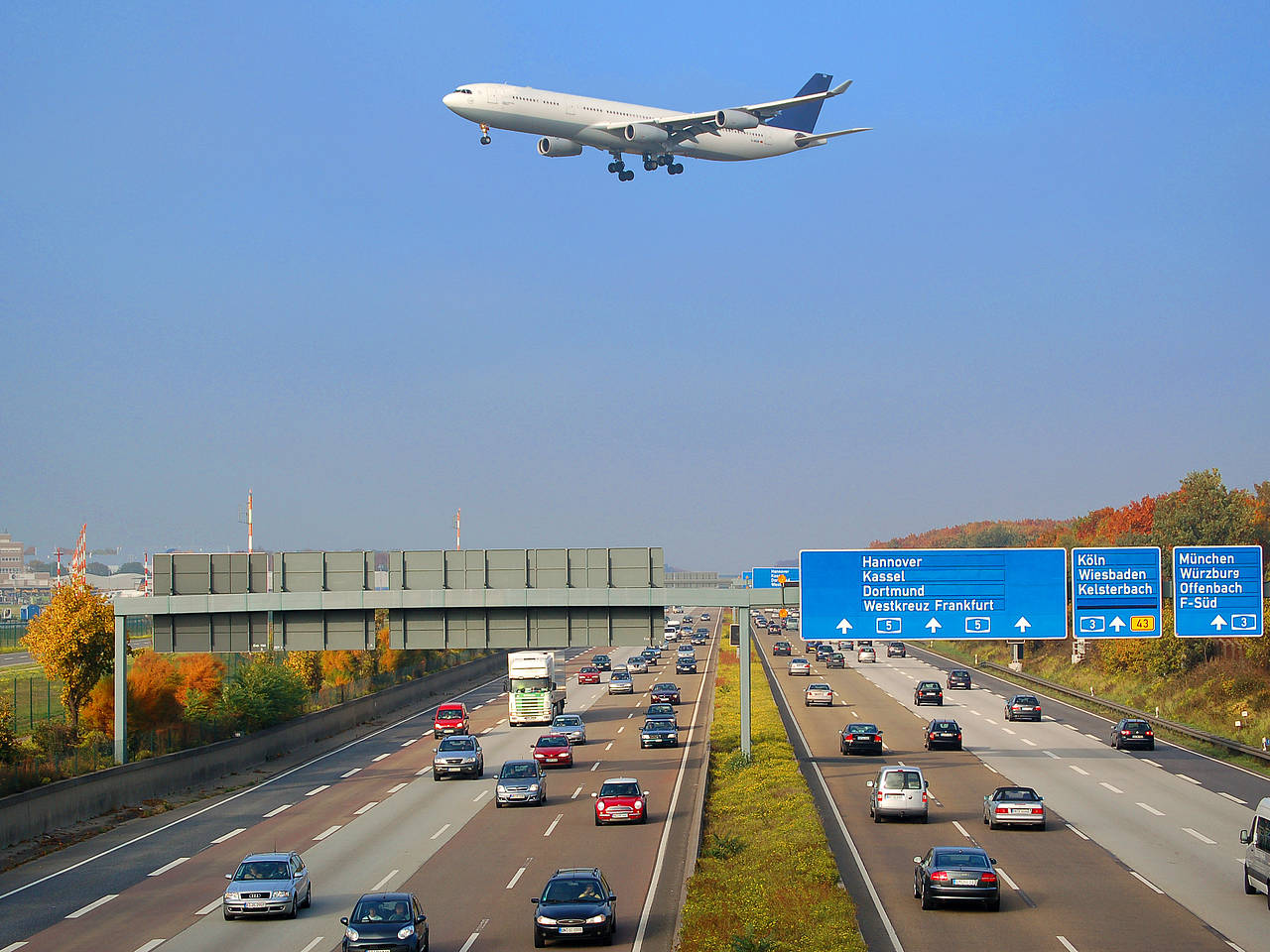 Flughafen Frankfirt